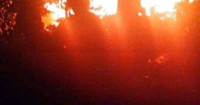 teks:IST- Satu rumah Hangus Dilalap Jago Merah di kawasan Pabrik Teh GD.