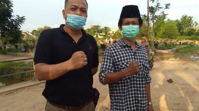 Foto: IST - Ketua PWI dan DPD LAI BPAN Sumsel