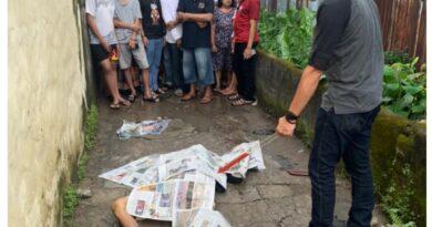 teks:IST- Diduga Korban Pembunuhan, Ali Saibi warga 11 ulu ditemukan Bersimbah Darah.