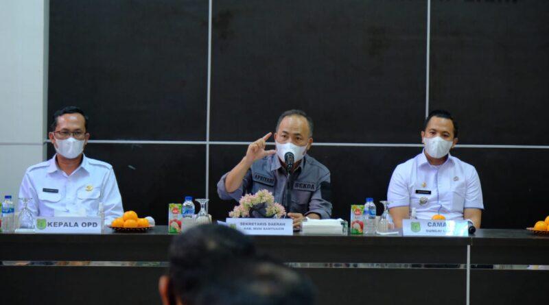 Foto: IST - Sekda Muba (tengah)