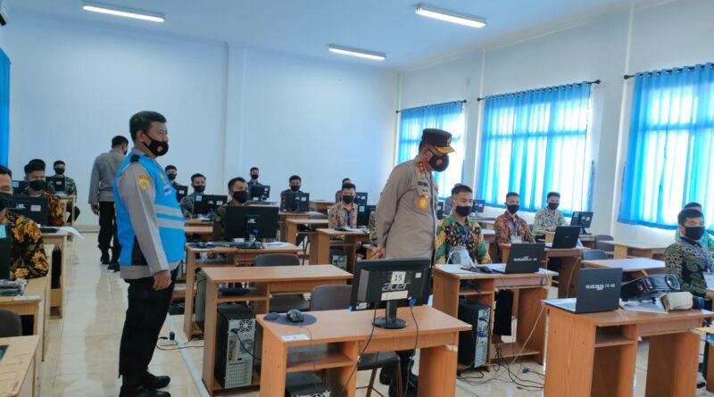 Foto: IST - Suasana tes yang dilaksanakan secara prokes