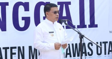 teks:IST- Bupati Muratara H Devi Suhatoni Launching Rumah Singgah Kabupaten Muratara