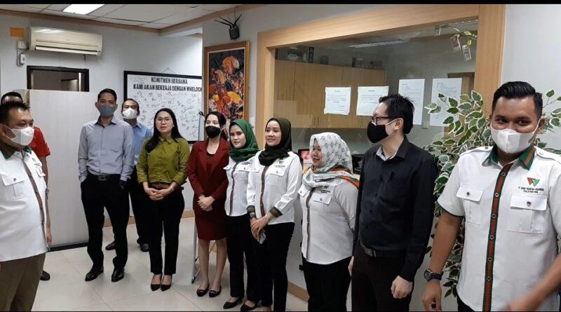 Foto: IST - Tim dari PT Rifan Palembang
