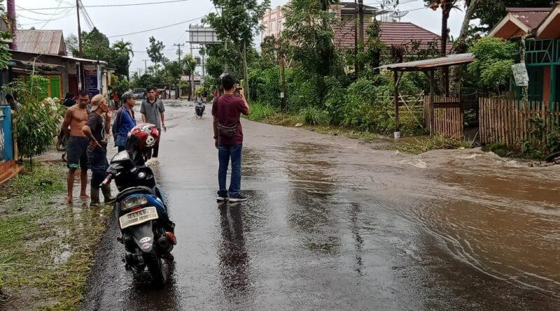 teks:IST- Hujan Deras Sejumlah Wilayah Pagaralam Banjir.