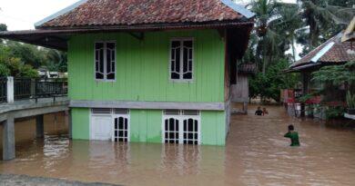 teks:IST- Mailan : 75 KK Digunung Meraksa Terdampak Banjir