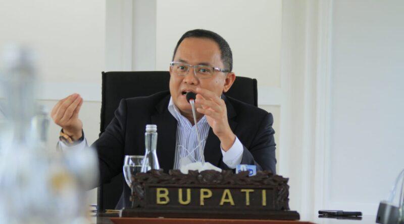 Foto: IST - Bupati Muba Dodi Reza Alex