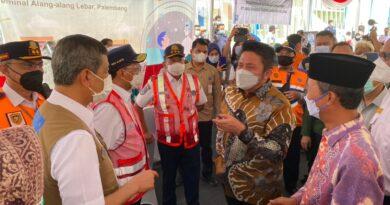teks:IST- Menhub dan Kepala BNPB Pusat Puji Keseriusan Sumsel Turunkan Angka Penyebaran Covid 19