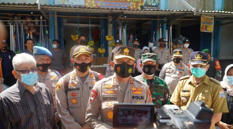 Foto: IST - Kapolda Sumsel saat memberikan keterangan pers