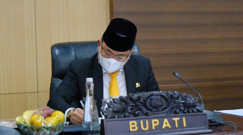 teks:IST- DPRD Setujui Pertanggungjawaban APBD Muba TA 2020