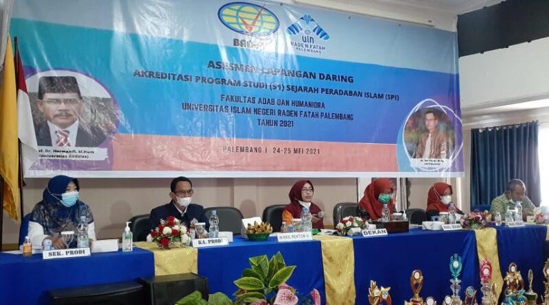 teks:IST- Pertama Kali, Prodi SPI FAHUM UIN RF Palembang Laksanakan AL Daring Kriteria 9