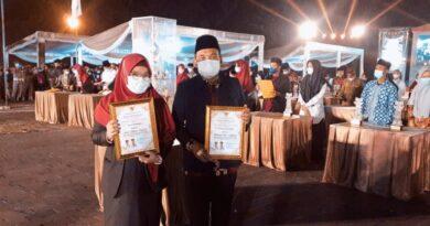 teks:IST- Banyuasin Juara Umum 2 STQH Ke XXVITingkat Provinsi Sumsel