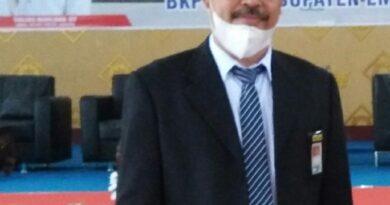 teks:IST-Kepala BPBD Empat Lawang : Sahrial Podril