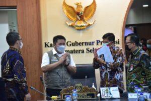 teks:IST- Herman Deru : Kampus IPDN Sumsel Selangkah LagiTerwujud