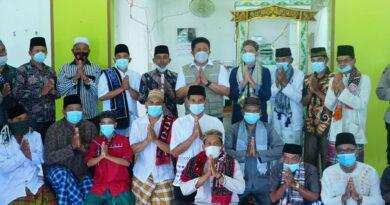 teks:IST-Herman Deru Bersama Mentan Syahrul Yasin Limpo Safari Jumat di Ogan Ilir