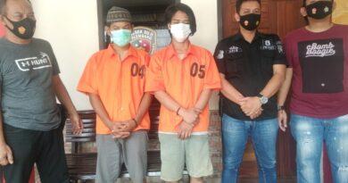 teks:IST- Komplotan Pelaku pencurian di Asrama AKBID Hepizal Di Ringkus Polisi.