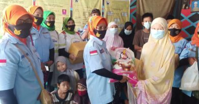 teks:IST- KPP AU Daerah Sumsel Salurkan Tali Asih Ke Enam Panti Asuhan