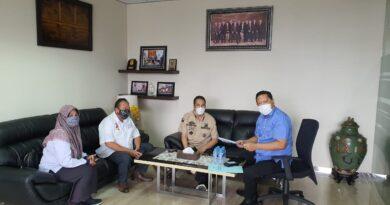 Foto: IST - Suasana audiensi Pengurus FSPSS dan SMSI Sumsel dengan Kakanwil Bank Mandiri Palembang