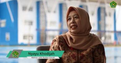 Foto: IST - Prof Nyayu Khadijah, Rektor UIN RF Palembang