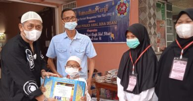teks:IST- Yayasan PABI Palembang Salurkan Beasiswa
