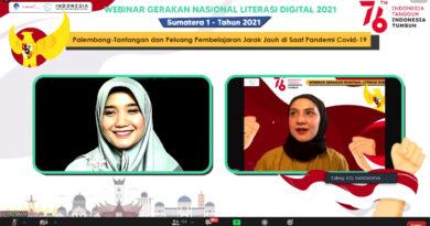 teks:IST- Webinar Literasi Digital Sumatera 1 Tawarkan Solusi PJJ Dimasa Pandemi