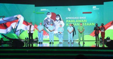 teks:IST- RSPAD Gatot Soebroto Terima Bantuan Dua Unit Ambulans Dari PT Pegadaian (Persero)
