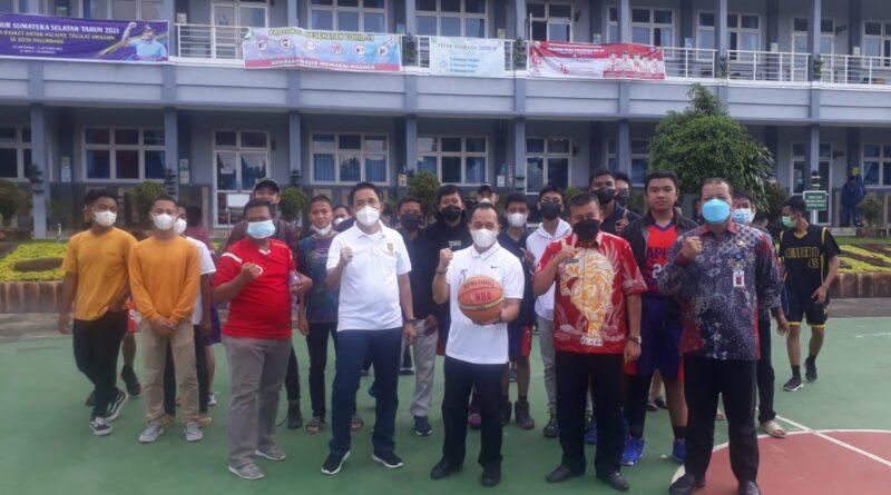 Komite Olahraga Nasional Indonesia ( KONI) Provinsi Sumsel menggelar acara Tournament Bola Basket antar Pelajar Tingkat SMA/SMK Se- Kota Palembang.