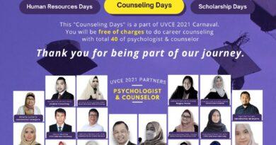 Konseling Karir Gratis pada Rangkaian Acara CARNAVAL UVCE 2021
