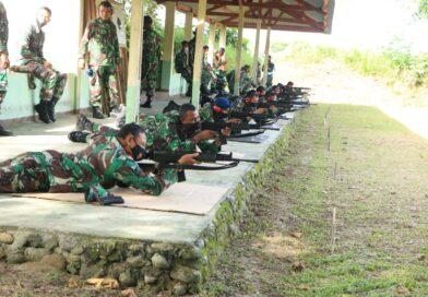 Lanud Sut Gelar Latihan Menembak Laras Panjang